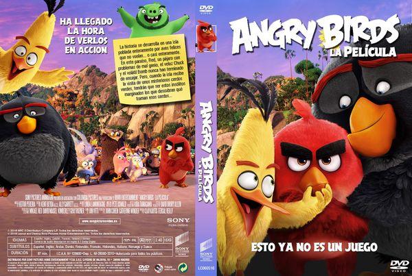 Angry Birds La película – Castellano, Catalán – DVD9