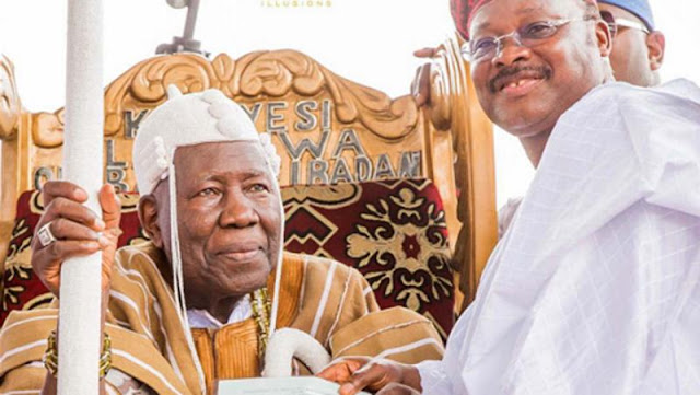 Ajimobi, Olubadan Face-Off To End Soon