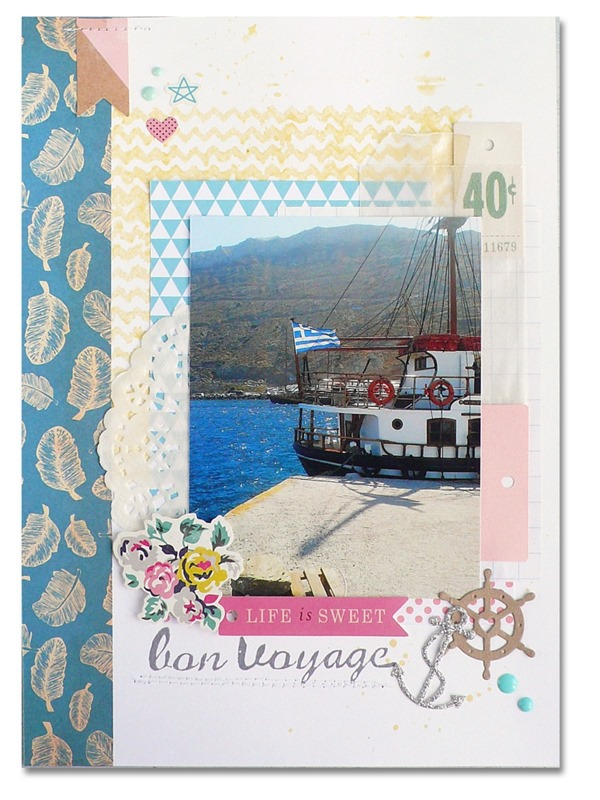 Scrapbooking - Dream layout