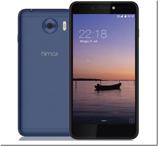 Himax M1, Ponsel Selfie dengan Triple LED Flash