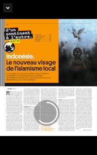 Courrier international - Mag – Vignette de la capture d'écran