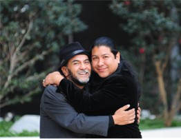 Miguel Ruiz With Son, Don Miguel Ruiz