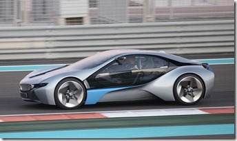 BMW i8 missionimpossible