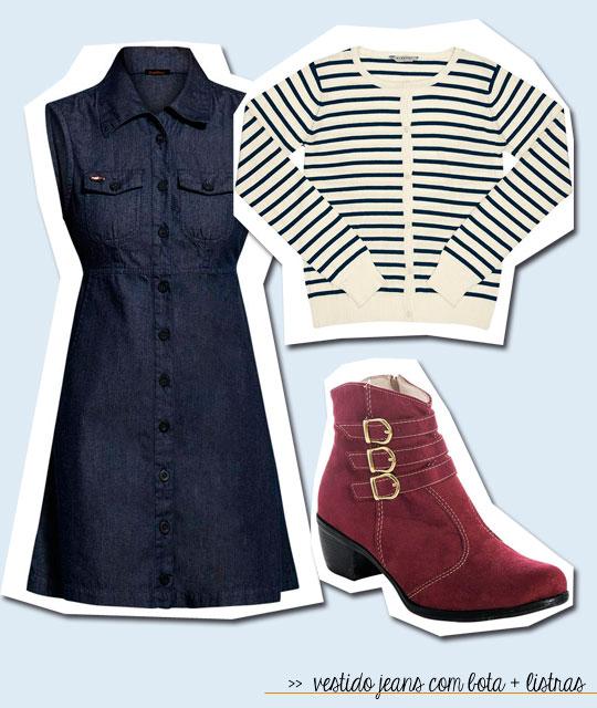 vestido jeans posthaus