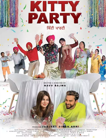 Poster Of Punjabi Movie Kitty Party 2019 Full HD Movie Free Download Watch Online