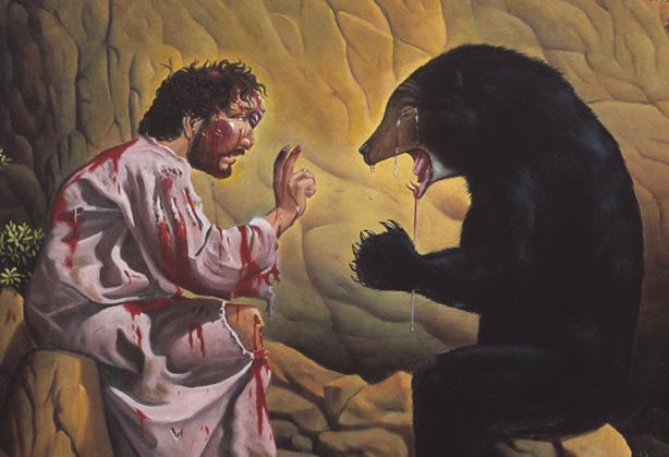 Josh Kezer: Jesus, The Bear, Humanity and Divine Forgiveness
