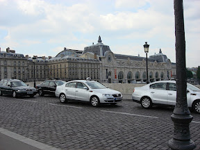 The Musée d'Orsay again. Funny, that VW Passat in the photo looks just like ours.