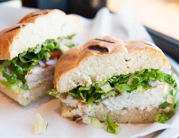 photo of Yellowtail Fish Sandwich