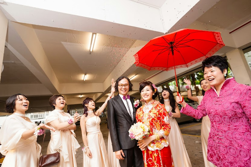 結婚傳說(5) : 出門不開紅傘,必...