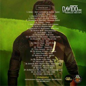 MIXTAPE: Dj bone – Davido Ore Ronaldo Mixtape @m28world @djbonekeepscratching @davidoofficial @cristiano