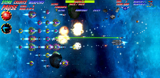 Space D-Fense - Space Invaders Arcade Shooter 5.91 screenshots 1