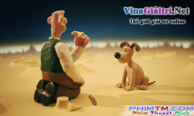 Xem Phim Wallace Và Gromit: Kỳ Nghỉ Ở Mặt Trăng - A Grand Day Out With Wallace And Gromit - phimtm.com - Ảnh 1