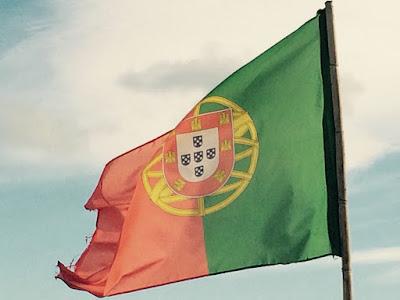 Det portugisiske flagget.