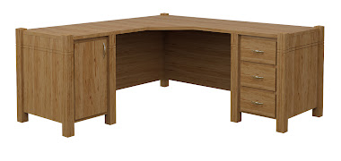 Phoenix L-Shaped Desk