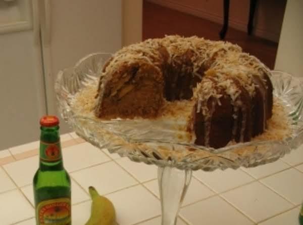 Caribbean Vacation Cake