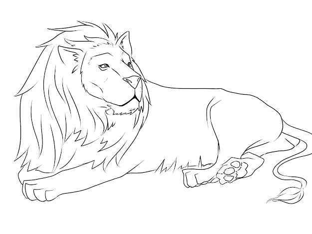 Lion Colouring Pages To Print Free Lion Coloring Page The Lion King  Coloring Pages On