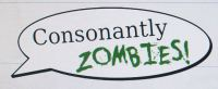 Consonantly Excited for Consonantly Zombies! (A Game For You To Play) image