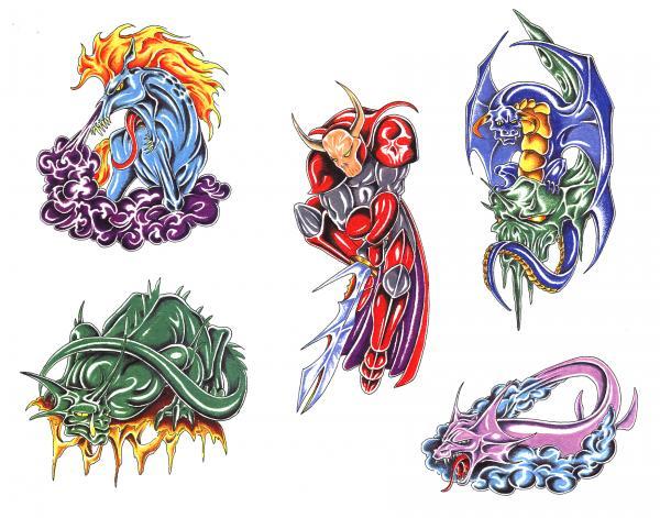Silent Tattoo Design 8, Fantasy Tattoo Designs