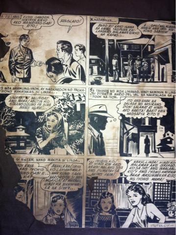 NESTOR REDONDO'S TIKTIK MAGAZINE WORKS 1940'S