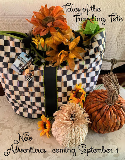 Next Tales of the Traveling Tote: Coming September 1, 2021