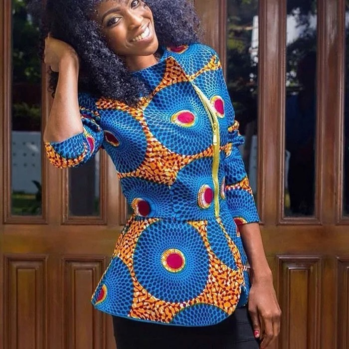 Beautiful Ankara jacket styles - 2018 , 2018 (8)