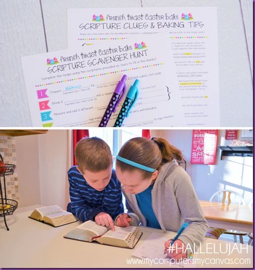Scripture Scavenger Hunt - Kids