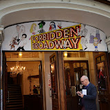 WWW.ENTSIMAGES.COM -      arriving at          FORBIDDEN BROADWAY - Press Night at Vaudeville Theatre London September 15th 2014Phillip George directs return of Gerard Akessandrini's comedy revue which, when it was first performed in New York, poked fun at a range of Broadway stars including Whoopi Goldberg and Elaine Paige.                                             Photo Mobis Photos/OIC 0203 174 1069