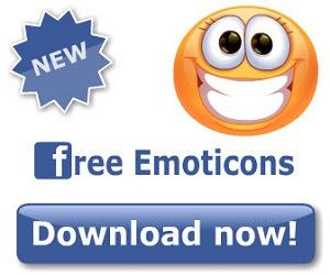 Sad Face Emoticon banner