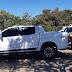 Oeste: PRF recupera caminhonete S10 roubada após ultrapassagem proibida