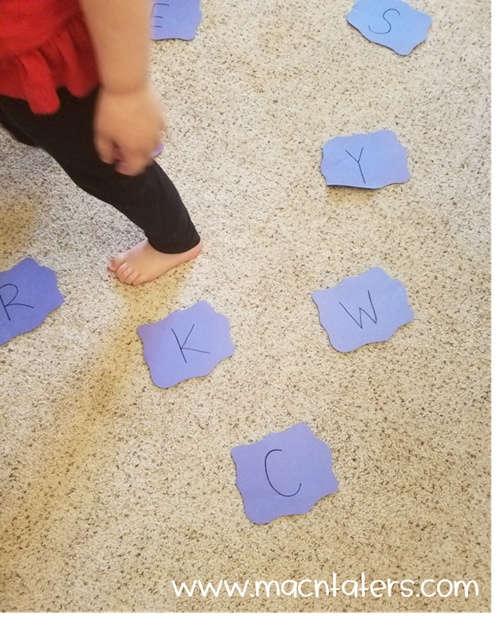 Puddle Jumping ABCs