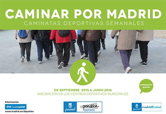 Caminar por Madrid, una propuesta gratuita y saludable