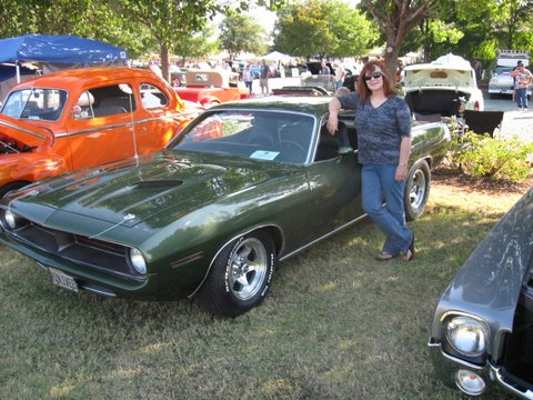 And her is her Cuda!