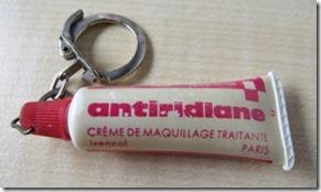 Antiridiane crème maquillante traitante