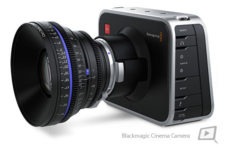 Novedades de NAB 2012  – Blackmagic Cinema Camera.