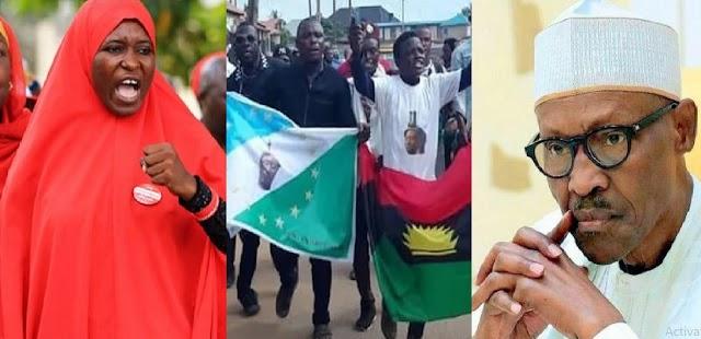 Grant Biafra, Oduduwa Referendum Now – Aisha To Buhari