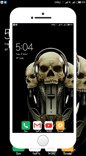 Screenshot for Skull Wallpaper in United States Play Store