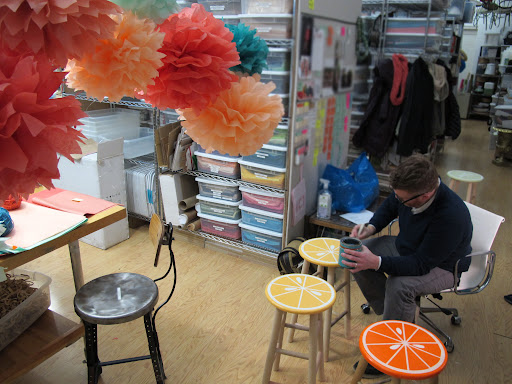 citrus stools being completed:    http://www.marthastewart.com/article/citrus-stool