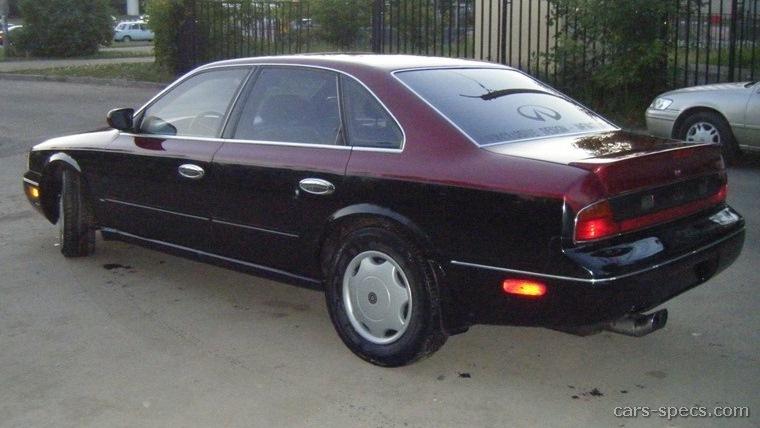 1994 Infiniti Q45 Base Sedan 4 5l V8 Sd Automatic