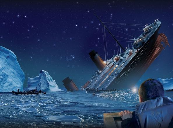 Di san lon nhat con lai khi tau Titanic chim xuong dai duong