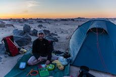 Dinner time in the desert