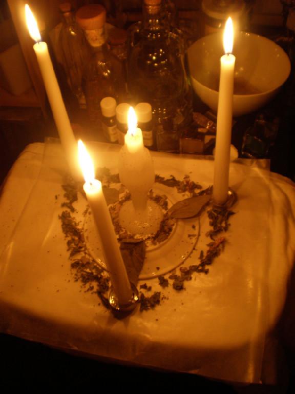 Spelling Magic, Candle Magic