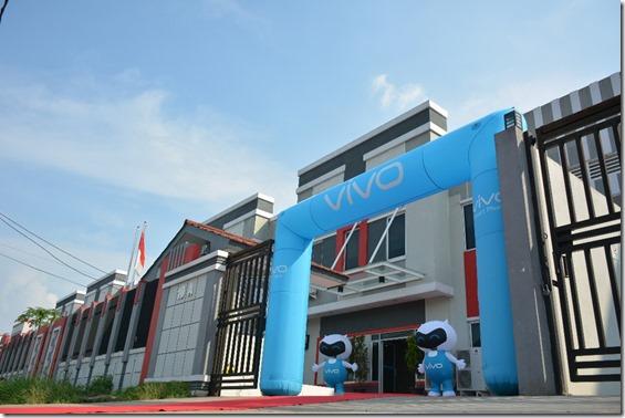 Pabrik Vivo Mobile Indonesia di Cikupa, Tangerang, Jawa Barat