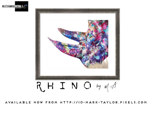 Mark Taylor Rhino art