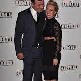 OIC - ENTSIMAGES.COM - Joe Calzaghe and Lucy Griffiths at the  Mr Calzaghe - gala film screening in London 18th November 2015Photo Mobis Photos/OIC 0203 174 1069