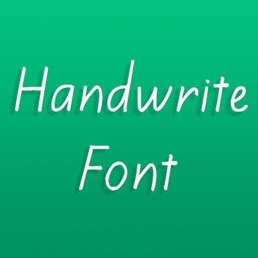 Handwrite Font for Oppo phone