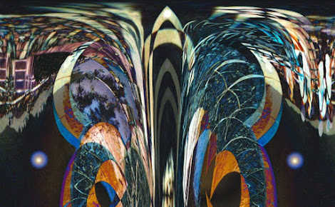 """The """"Dark Symmetry"""" piece from the """"1999"""" collection"""