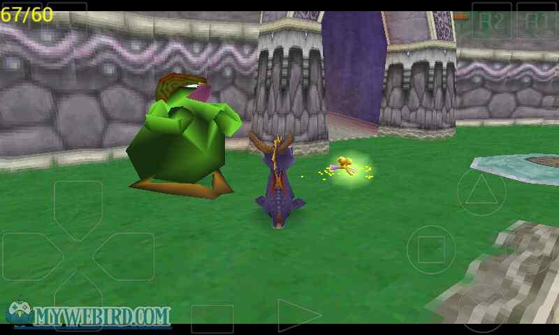 spyro the dragon gamepkay
