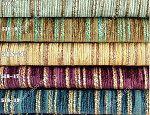 Rèm vải đẹp cao cấp nhung nỉ kẻ một màu sang trọng 944