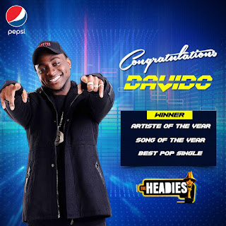 Davido, Headies award, pepsi
