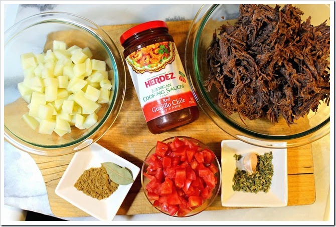 Shredded Beef Tacos Recipe | Ingredients